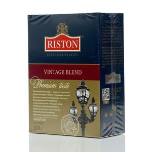 Чай черный цейлонский крупнолистовой Vintage Blend ТМ Riston (Ристон)