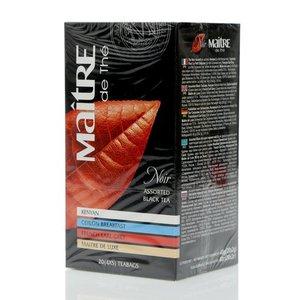 Чай черный ТМ Maitre (Мэтр) Assorted black teа, 20 пакетиков
