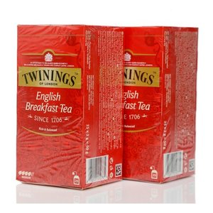 Чай черный English Breakfast Tea 2* 25*2г ТМ Twinings (Твайнингс)