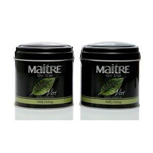 Чай черный молочный улонг ТМ Maitre (Мэтр) Milk Oolong, 2*100г