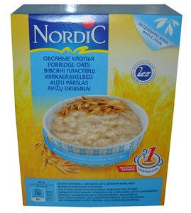 Хлопья овсяные ТМ Nordic (Нордик)