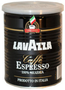 Кофе молотый жареный Espresso высший сорт (100% Арабика) ТМ Lavazza (Лавацца)