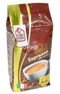 Кофе натуральный жареный Gold Espresso молотый ТМ Fine Food (Файн Фуд)
