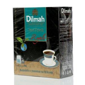 Чай черный байховый ТМ Dilmah (Дилма) Эрл Грей, 100 пакетиков