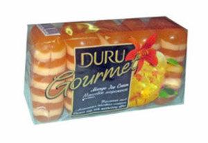 Мыло туалетное манговое мороженое, 5*75г ТМ Duru (Дуру)