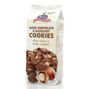 Печенье с горьким шоколадом и фундуком ТМ Merba (Мерба)