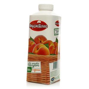 Йогурт питьевой с персиком 1,5% ТМ Вкуснотеево