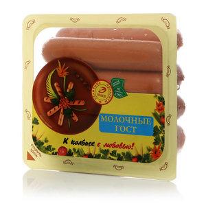 Сосиски Молочные ТМ Иней отличные продукты