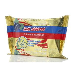 Продукт творожный с изюмом с растительным жиром 23% ТМ Дмитровский молочный завод