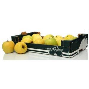 Яблоки Голден (картонная ячейка)