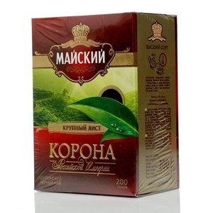 Чай цейлонский черный крупнолистовой Корона российской империи ТМ Майский