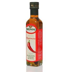Оливковое масло Peperoncino (Красный острый перец) TM Monini (Монини) нерафинированное экстра верджин