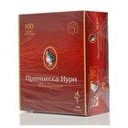 Чай черный цейлонский ТМ Принцесса Нури отборный, 100 пакетиков