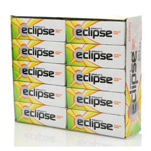 Жевательная резинка апельсин и лимон 30 пачек ТМ Eclipse (Эклипс)