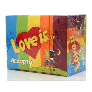 Жевательная резинка Ассорти 100*4,2г ТМ Love is (Лав из)