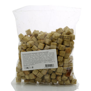 Сухарики пшеничные cо вкусом чеснок и травы ТМ Воронцовские