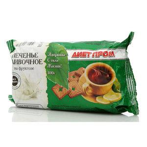 Печенье сливочное на фруктозе ТМ Петродиет