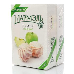 Зефир яблочный, 2*255г ТМ Шармэль