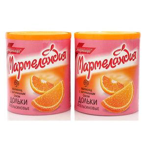Мармелад Апельсиновые дольки, 2*250г ТМ Мармеландия