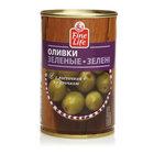 Оливки зеленые с косточкой TM Fine Life (Файн Лайф)