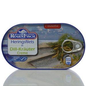 Филе сельди в соусе с укропом и травами ТМ Rugen Fisch (Руген Фиш)