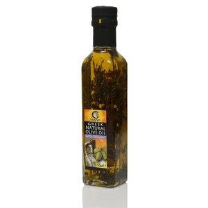 Оливковое масло нерафинированое экстра вирджин с орегано ТМ Gaea (Гаеа)