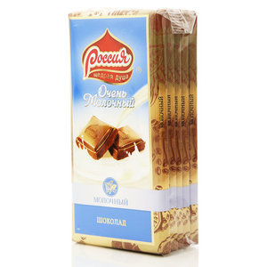 Шоколад молочный Очень молочный ТМ Россия
