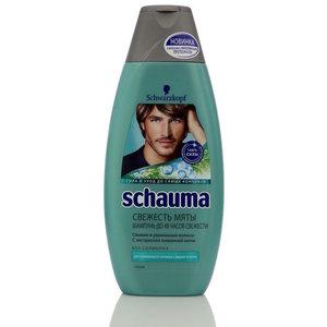 Шампунь для мужчин Свежесть Мяты для нормальных и склонных к жирности волос ТМ Schauma (Шаума)