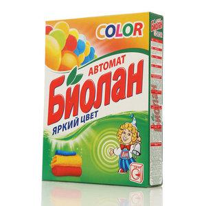 Стиральный порошок автомат Color яркий цвет ТМ Биолан