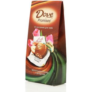 Шоколад молочный с фундуком ТМ Dove Promises (Дав промисес)