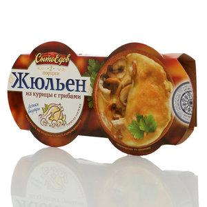 Жульен из курицы с грибами (2 порции) ТМ СытоЕдов