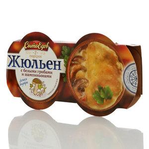 Жульен с белыми грибами и шампиньонами (2 порции) ТМ СытоЕдов