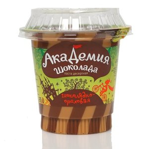 Паста десертная шоколадно-ореховая ТМ Академия шоколада