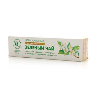Крем для лица Зеленый чай для всех типов кожи ТМ Невская косметика
