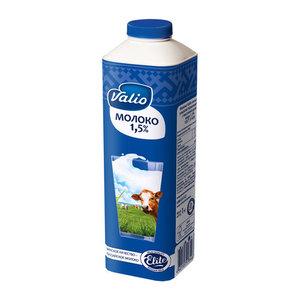 Молоко пастеризованное 1,5% ТМ Valio (Валио)