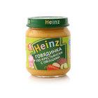 Пюре говядинка по-крестьянски с овощами ТМ Heinz (Хайнц)