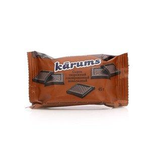 Сырок творожный глазированный шоколадный ТМ Karums (Карумс)