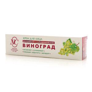 Крем для лица Виноград для нормальной и комбинированной кожи ТМ Невская косметика