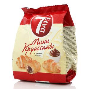 Мини круассаны с кремом какао ТМ 7 Days (Сэвэн Дэйс)