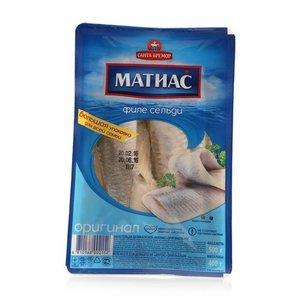 Филе сельди деликатесное Матиас оригинальное ТМ Санта Бремор