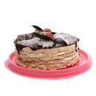 Торт воздушный Лапландия с малиной ТМ Невские берега