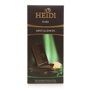 Шоколад темный с мятой и лимоном ТМ Heidi (Хейди)