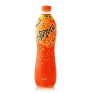 Напиток Orange вкус апельсина сильногазированный ТМ Mirinda (Миринда)