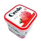 Мороженое пломбир Клубничное суфле ТМ Credo (Кредо)