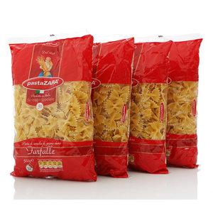 Макароны Бантики ТМ Pasta Zara (Паста Зара), 4*500г
