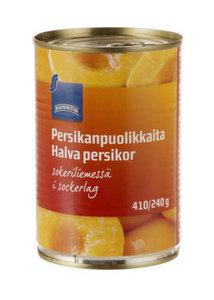 Персик половинки в сахарном сиропе ТМ Rainbow (Рейнбоу)