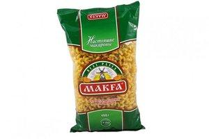 Макаронные изделия Рожки Гладкие ТМ Makfa (Макфа)