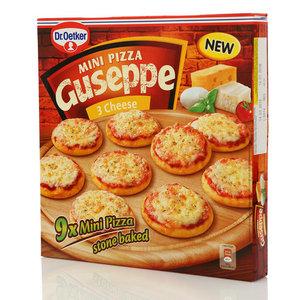 Mini Pizza Guseppe 3 Cheese (Мини пицца 3 сыра) 9 шт ТМ Dr.Oetker (Др.Оеткер)