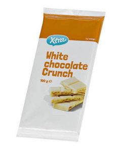 Шоколад белый с крошкой ТМ X-tra (Экс-тра)
