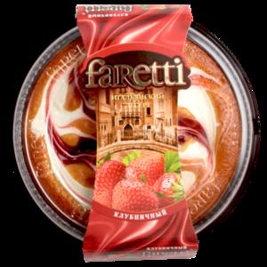 Торт бисквитный клубничный ТМ Faretti (Фаретти)
